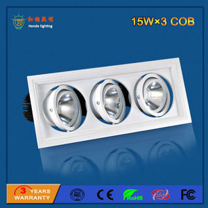 LED Grille Light 15W×3
